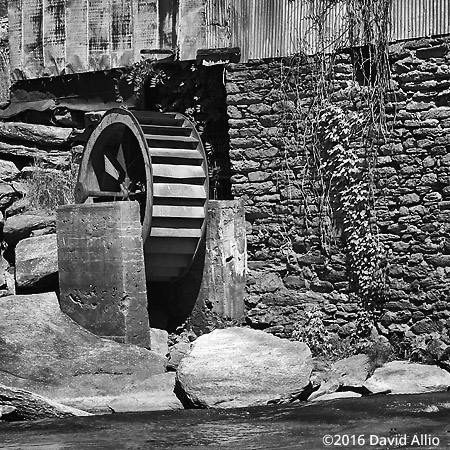 One of Two Anderson Mill Spartanburg County South Carolina Historic Landmark Series