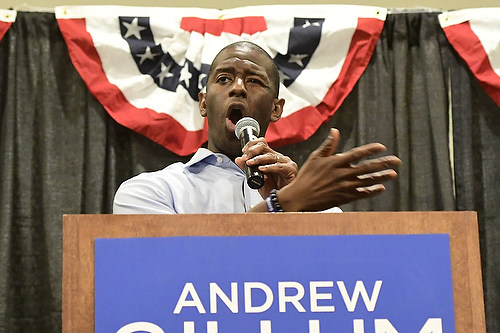 Andrew Gillum for Governor Monticello Opera House Jefferson County Americana Collection