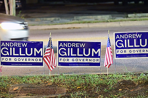 Andrew Gillum for Governor Monticello Opera House Jefferson County Florida Americana Collection