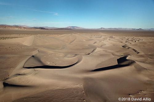 Star Shape Big Dune Amargosa Dune Nye County Amargosa Valley Nevada Americana Collection