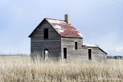 Tax Day abandoned prairie house northern Great Plains Williams County Tioga North Dakota Americana Collection