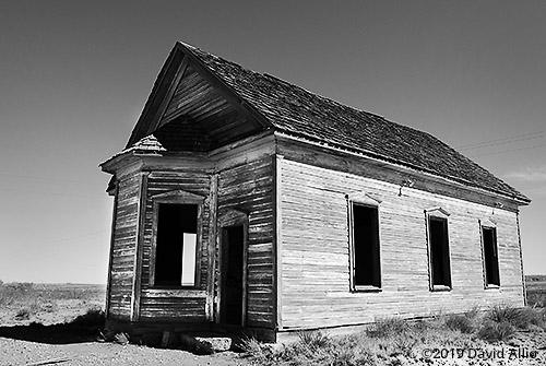 Asymmetrical Bay First Presbyterian Church of Taiban DeBaca County New Mexico