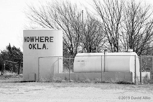 Recent Census Nowhere Oklahoma Americana Collection