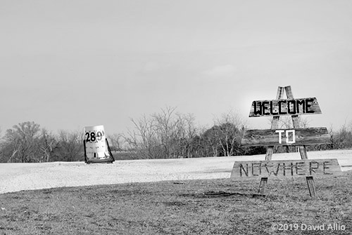 Welcome to Nowhere Oklahoma Americana Collection