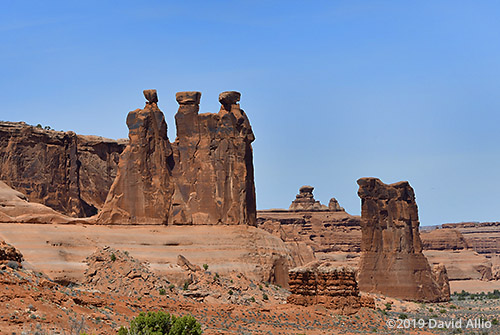 Three Gossips Arches National Park Moab Utah Americana Collection