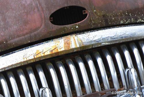 Rusty 1951 Buick Super Eight antique car Otto North Carolina 2020