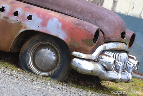 Rusty palette 1951 Buick Super Eight antique car Otto North Carolina 2020