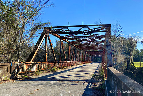 Abandoned Hillman Bridge Old Ellaville Bridge US90 Bridge Suwannee River State Park Ellaville Florida Americana Collection
