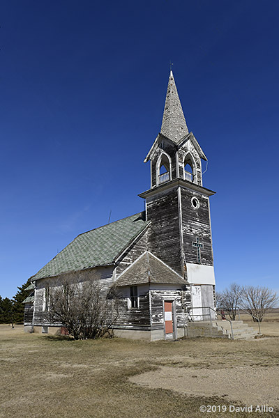 Tunbridge Scandinavian Evangelical Lutheran Church Rugby North Dakota 2019